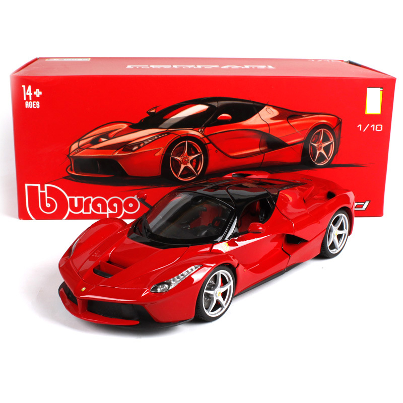 1 18 Big size Sports Car Alloy Static Car Model Toys Limited Edition Locomotive Office Decoration