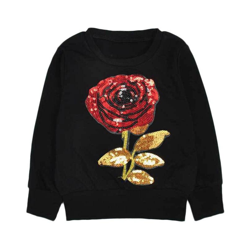 2018 Spiderman Roupas Infantis Menino Aile Rabbit Hot Sale Girls Clothes Suits Rose Sequins T-shirt + Pants 2pcs Set Childrens