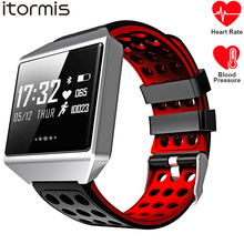 ITORMIS Fitness Smart Bracelet SmartBand Sport Wrist Band Watch Heart Rate Blood Pressure Monitor K12 Waterproof for android ios itormis smart band bracelet wristband bluetooth fitness tracker smartband heart rate blood oxygen pressure for android ios