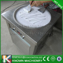 The 450 mm diameter of single pan fried ice cream machine with R410A refrigerants (Shipment by EK to Wroclaw airport, Poland)
