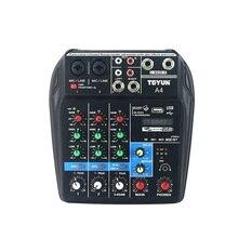 新スタイルの録音サウンドミキシングコンソール 48 v ミキサー usb デジタルミキサーサウンドミキシングコンソール bluetooth 記録 48 v