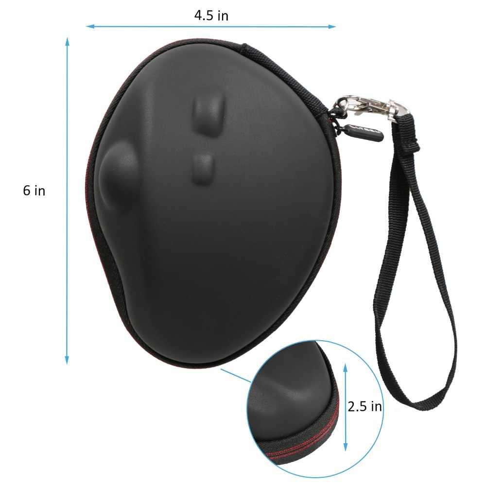 LTGEM EVA duro llevar de viaje para Logitech MX ERGO inalámbrica avanzada ratón Trackball