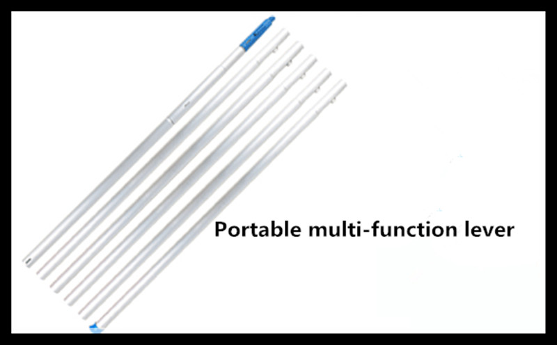 Three meters lengthened high-support saws telescopic rod (three meters poles without cutting head)