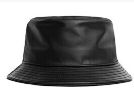 fashion genuine leather fishing cap brand casual bucket Hat out sun  protection bonnie hat male camping borras for women men-in Bucket Hats from  Apparel ... dba51719e00
