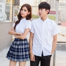 College wind class uniforms suit shooting graduation photos jk uniform sailor stand collar junior high school men and women