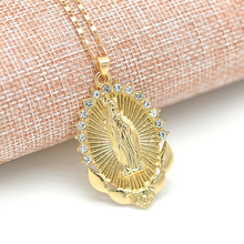 2020 New Life Crystal Round Small Pendant Necklace Gold Colors Bijoux Collier Elegant Women Jewelry Gifts Dropshipping