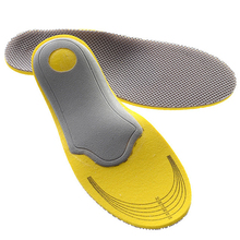 Soft 1 Pair Arch Foot Orthotics Shoe Insoles Pad High Elasticity Inner Sole Pad 3D Premium Comfortable Orthotic Insoles FM1072