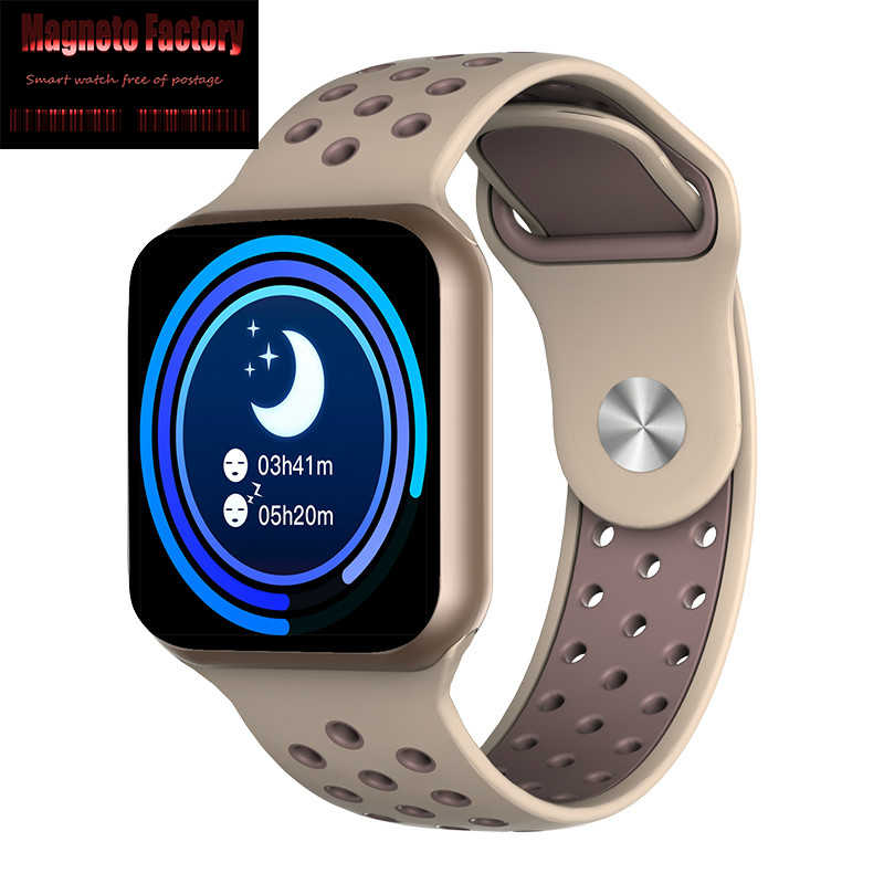 MFS 2019, полный экран, сенсорный F8, Смарт-часы, спортивный шагомер, пульсометр, измеритель артериального давления, фитнес-трекер, умные часы, ip67