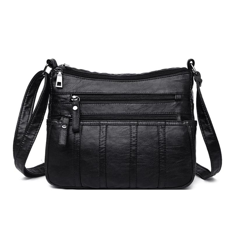 Handbags Messenger-Bag Crossbody-Bags Shoulder Zipper Small Elegant Casual Women Simple title=