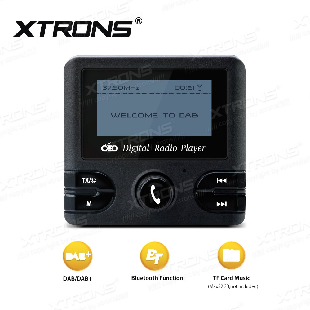 xtrons dab04 digital dab radio receiver with fm transmitter bluetooth function on aliexpress. Black Bedroom Furniture Sets. Home Design Ideas