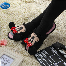 Minnie soft Women's Cotton slippers Cartoon Lovely Couple Mickey adult shoes