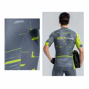 Santic Cycling Jersey Men 2018 Pro Racing Team Shirt Road Mountain Bike Jersey Short Sleeve Bicycle Jersey Maillot Ciclismo