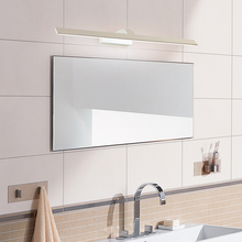 40CM-120CM Mirror Light LED Wall Lamp Mirror lamp Waterproof Anti-fog Brief Modern Cabinet Bathroom Wall Light 40cm 120cm mirror light led bathroom wall lamp mirror glass waterproof anti fog brief modern aluminum acrylic cabinet led light