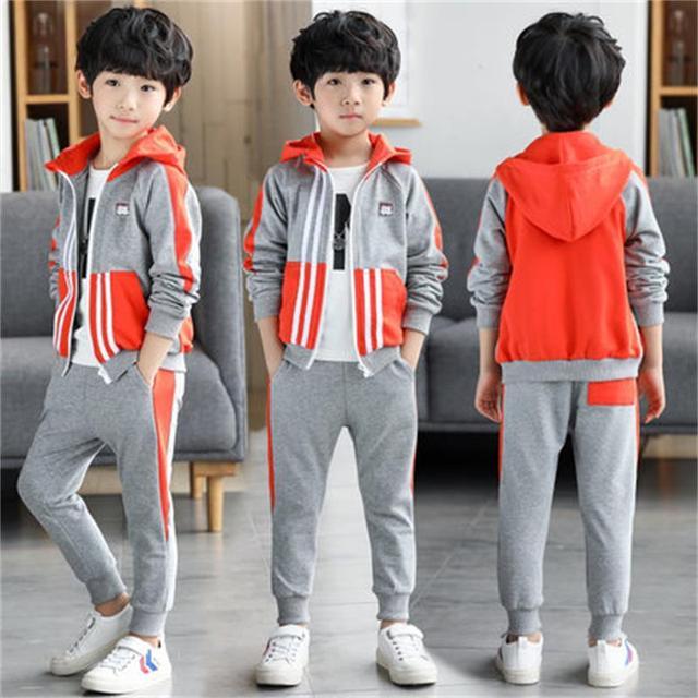 348ab4e575f0 Aliexpress.com   Buy Children s clothing boy spring handsome set ...