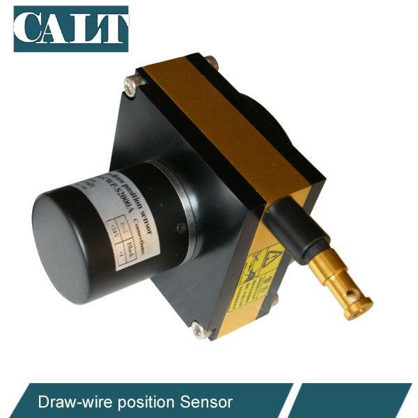 正確なドローワイヤーセンサー 3000 ミリメートル測定範囲ケーブルの延長ストリングポットストリングエンコーダゲージ pushpull 出力