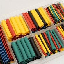 Ж/коробка полиолефи термоусадочные размеры ассорти wrap рукава трубки провода цвета комплект