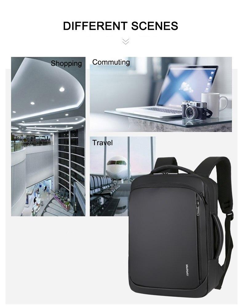 Sac à dos pour ordinateur portable multifonctionnel 9