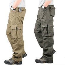 JOYSWAMM Camouflage Men Camo Hip Hop Cargo Pants Casual Male Jogger Hombre Cotton