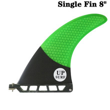 Single Fin 8 Longboard Surf Green/Blue/Red/White color Surfboard
