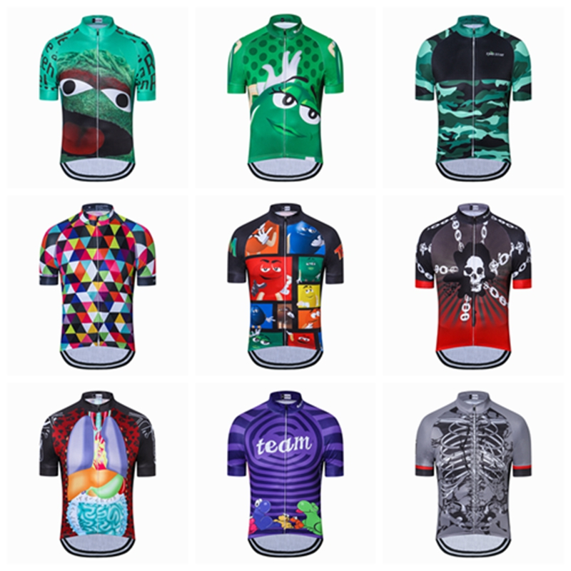 цена на Weimostar 2018 Men's Cycling Jersey Quick-Dry Summer Team Bicycle Clothing Cycle Wear Shirt Ropa Ciclismo MTB Bike Jerseys Tops