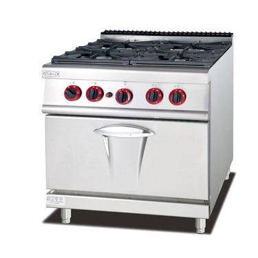 Gehorsam Gh-987a Kommerziellen Küche Ausrüstung 4 Brenner Gasherd Gas Ofen Multifunktionale Herd Ein BrüLlender Handel Haushaltsgeräte Bereiche