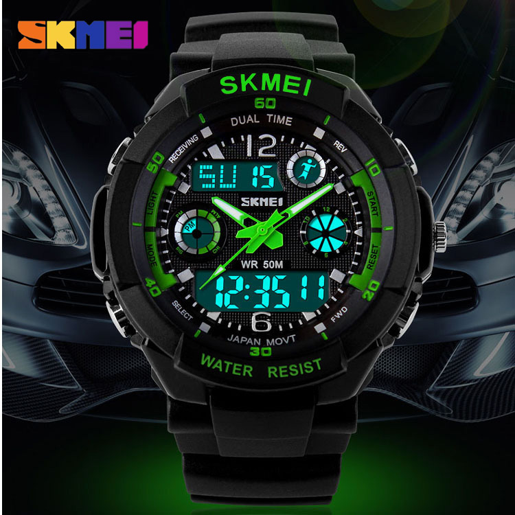 Skmei Brand Men's Sports Watch Fashion LED Digital Quartz Wristwatches Casual Shock Resistant Outdoor Military Watches New 0931 skmei men climbing sports digital wristwatches big dial military watches alarm shock resistant waterproof watch 1025