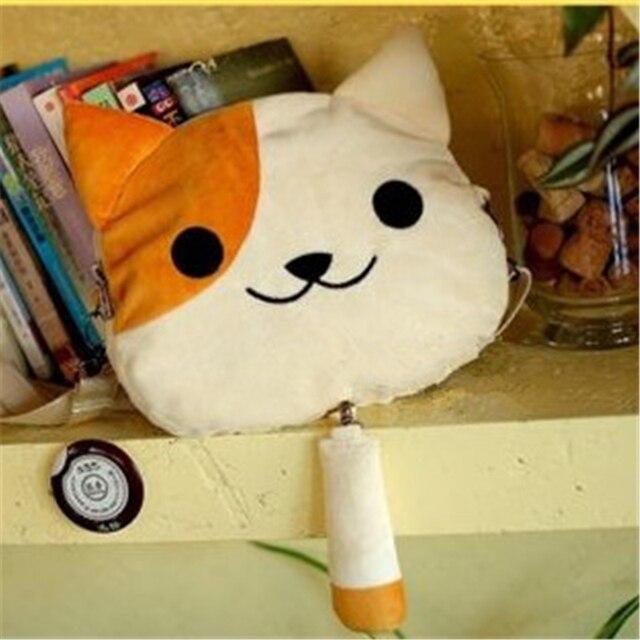 [PCMOS] 2017 New New!!!  Hot Game Neko Atsume Oddo San phantom cat plush shoulder bag cute 3style Arcade Prizes 16012101-A