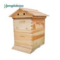 Инструменты для пчеловодства/оборудование ели Авто потока улей/пчелиный улей + 7 шт. Мёд вощины для пчеловода