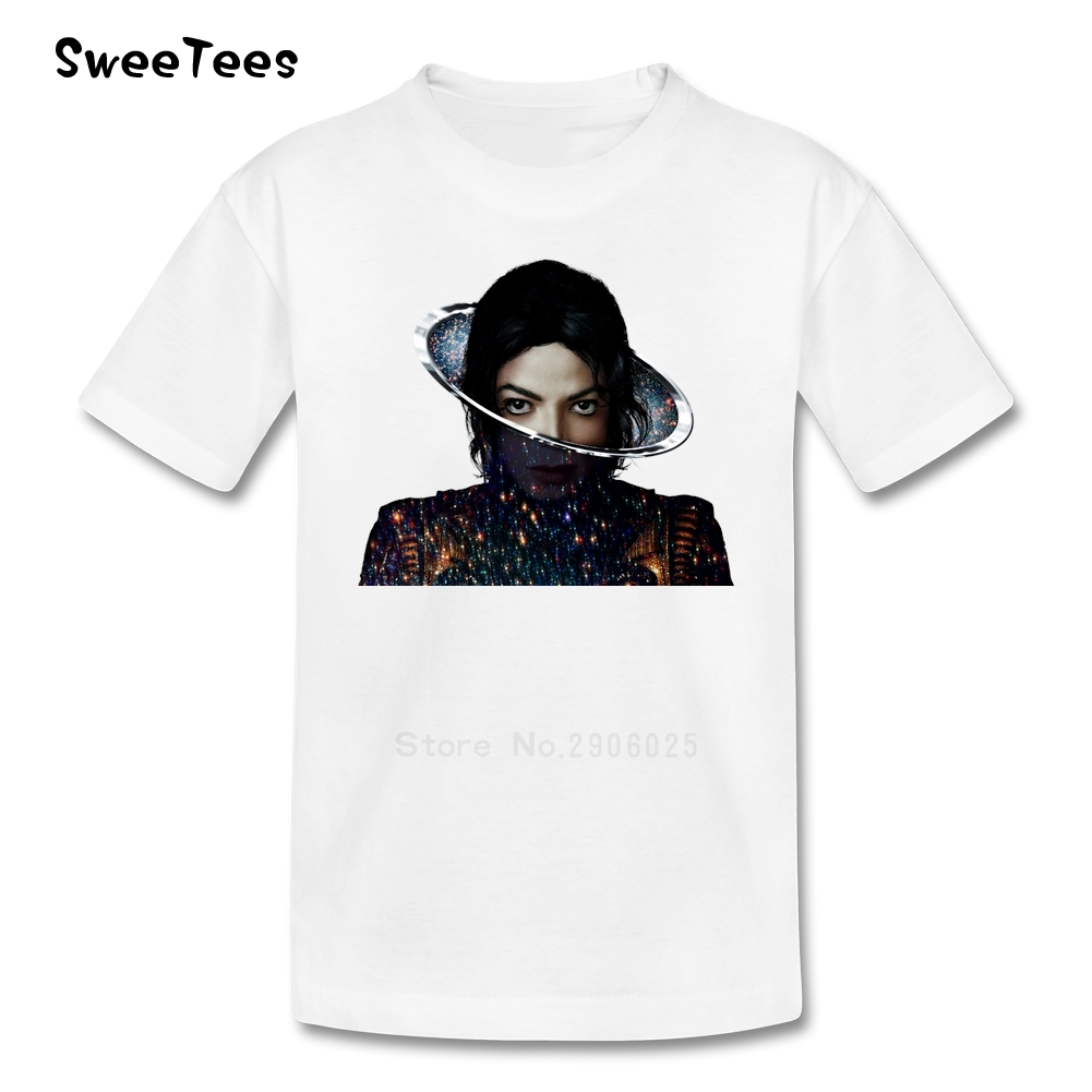 Black t shirt michaels - Michael Jackson T Shirt Kids Cotton Short Sleeve Crew Neck Tshirt Children Tee Shirt 2017 Rock
