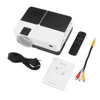 H2 Портативный светодиодный проектор 58 Вт ЖК цифровой AV HD 1080 P проектор мультимедийный домашний кинотеатр Кино ТВ ноутбуки видео проектор