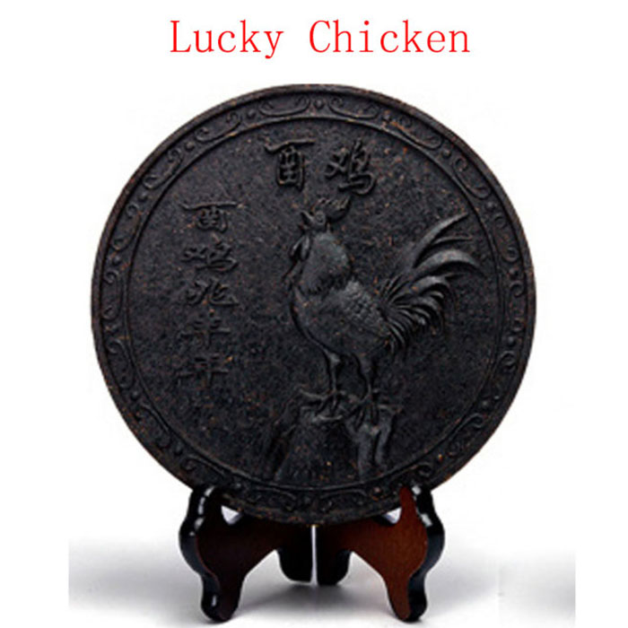 Image result for lucky chicken dahongpao big red robe