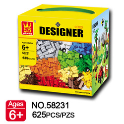 W Model Compatible with Lego W58231 625Pcs Zoo Farm Models Building Kits Blocks Toys Hobby Hobbies For Boys Girls