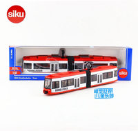 SIKU 1895/1:87 Scale/Diecast Metal Model/City Subway Trolley Bus/Educational Toy Car for children's gift or collectionl