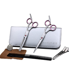 Baorun XK-09 new hair scissors, bangs scissors, thin hairdressing scissors, straight snips scissors, pinking shears