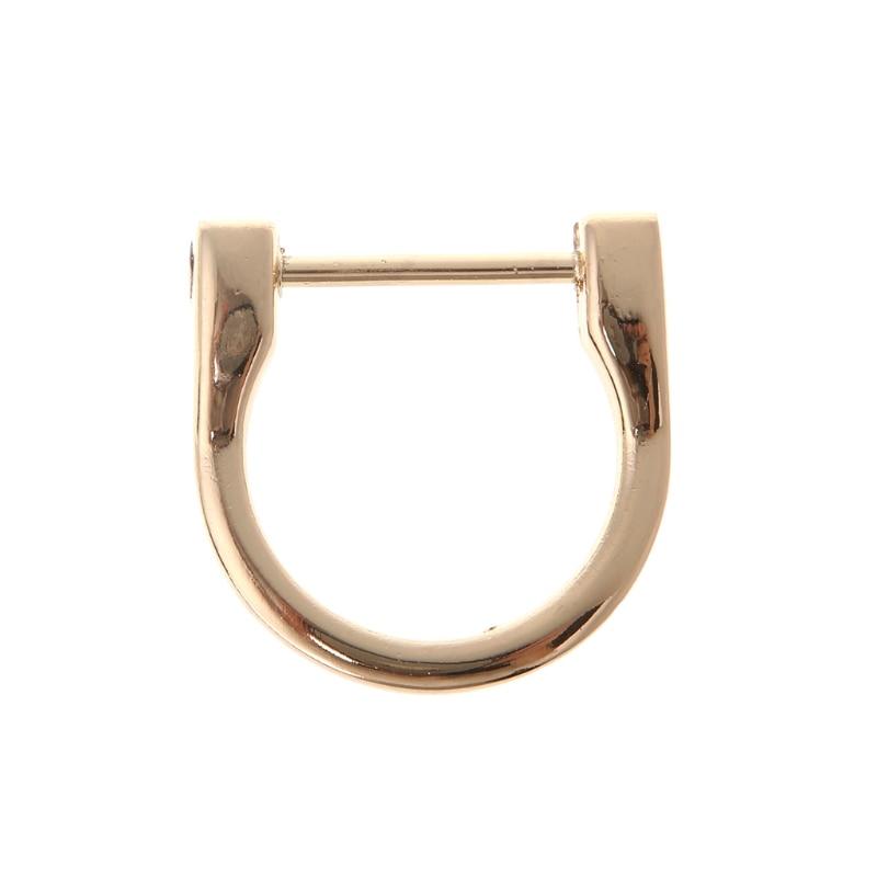 2.5cm/1.8cm Metal D Ring Buckle Accessories New Detachable Openable Removable Handbag Purse Strap DIY 1 pack(2pcs)