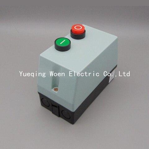 acionador de partida magnetico qcx5 09 caso plastico interruptor de partida do motor qcx2 09