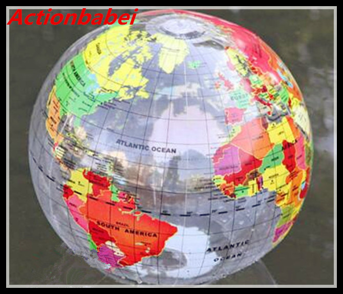 Actionbabei new globe beach ball 16 pool party earth world map actionbabei new globe beach ball 16 pool party earth world map teacher gifts for children free shipping in toy balls from toys hobbies on aliexpress gumiabroncs Images