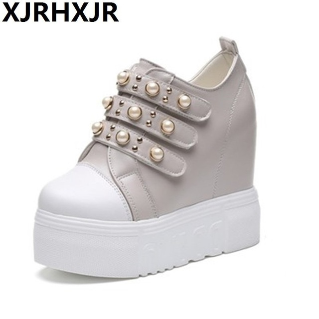 Hot Sale Womens Shoes Breathable Mesh Sneakers Wedge Hidden Sport Sandals Casual
