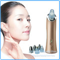 Professional Acne Treatment Blackhead Remover EMS Vacuum Microdermabrasion Facial Beauty Machine with 6 Changeable Beauty Heads