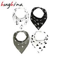 Hughina H922 Fashion Animal Bibs And Cotton Brup Cloths For Boy And Girls Bibs Burp Cloths