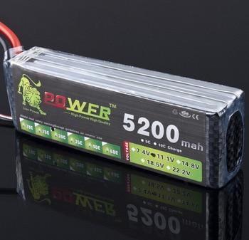цена на Lion Power Battery 11.1V 5200MAH 30C to MAX 35C AKKU For Halicopter Boat 11.1v LiPo battery free shipping 2019 3s battery  155mm
