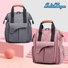 SeckinDogan Baby Diaper Bag Thermal Insulation Mommy Backpack Large Capacity Maternity Stroller Travel Nursing Backpacks