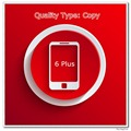 5 pçs/lote Copiar Uma Tela de Qualidade Testada para 6 Mais Display LCD Preto/Branco