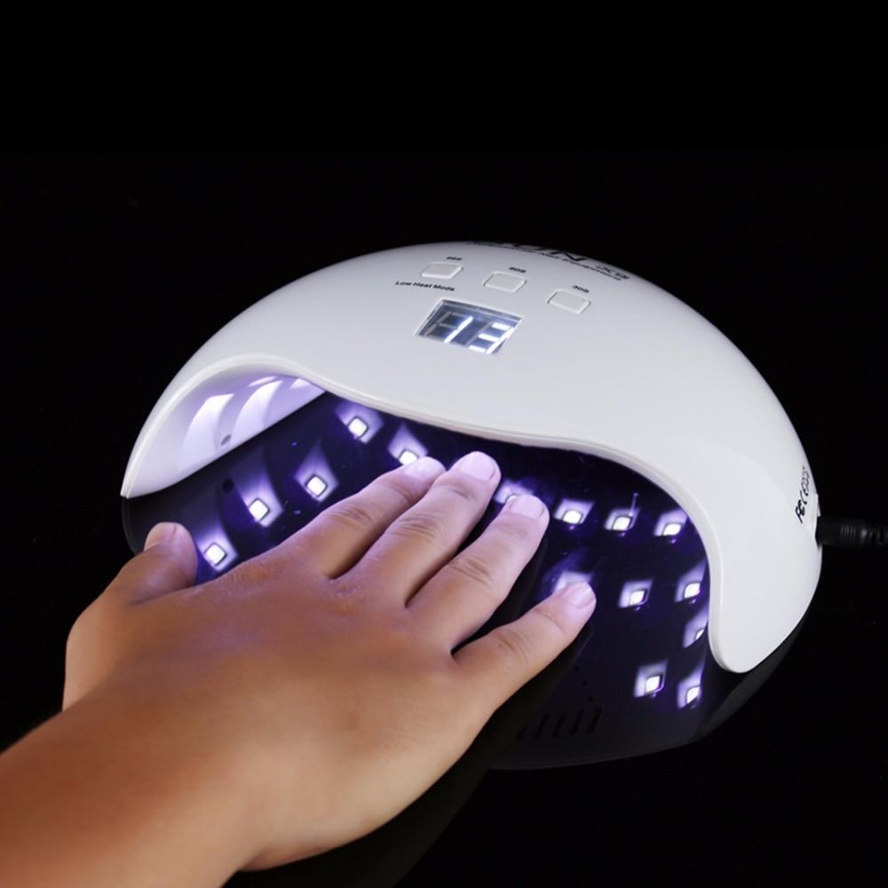 2018 Nagel Trockner 48 Watt Uv Led Nagel Lampe Sonne X9 Mit 30 S/60 S/99 S Timer-taste Auto Sensor Für Alle Gele 21 Leds Nagel Maschine SchöN Und Charmant Nageltrockner Schönheit & Gesundheit