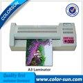 Tamaño A3 Caliente y Fría Temperatura Foto A4 Laminador A3 Máquina de Laminación para la Oficina/Hogar