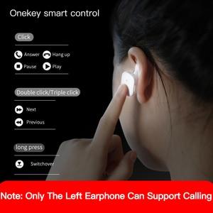Image 5 - Baseus TWS سماعة بلوتوث للهاتف في الأذن سمّاعات أذن لاسلكيّة مزدوجة مع ميكروفون ذكي اللمس يدوي عمل سماعة