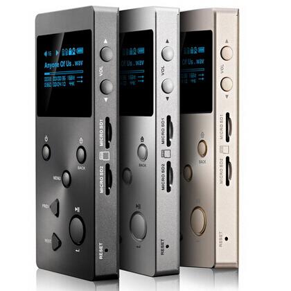 Prix pour D'origine XDUOO X3 HIFI Sans Perte musique MP3 HIFI Lecteur avec écran OLED soutien DSD/APE/FLAC/WAVWMA/OGG/MP3 double slot SD