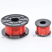 1pcs 1.0mm 2.0mH 4.0mH Audio Amplifier Speaker Crossover Inductor 4N Oxygen Free Copper Wire Coil #Red