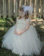 Девушки цветка детей осенняя платье принцессы дети цветов девушки цветочная девушка свадебное платье девушка подарок на день рождения