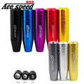 Ace speed--Mugen shift knob 13cm Length Aluminum Gear Shift Knob Racing Car Universal Shift Gear Knob